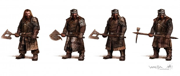 Erebor Light Armor Soldiers 2