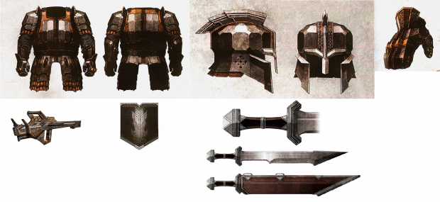 Iron Hills Army Armor and Arms