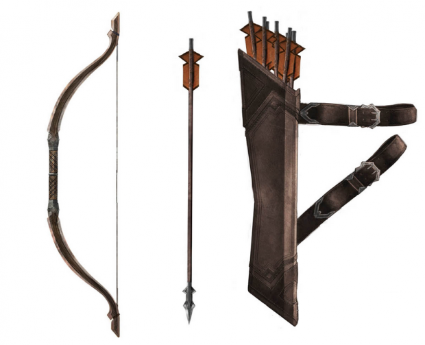 Thorin's Bow and Arrow