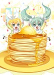 Attack the pancakes!