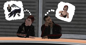 Shepard being a pervert!