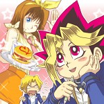 Yugi and Anzu