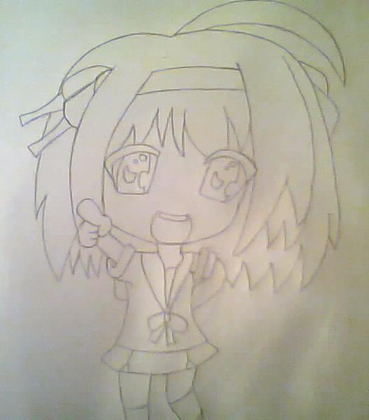 Haruhi Suzumiya chibi {Unfinished}