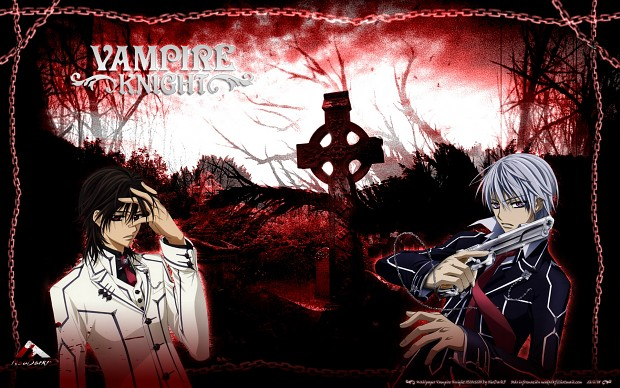 Vampire Knight - Zero and Kaname