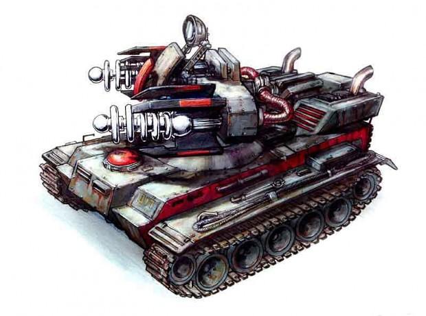 Tesla Tank MK-II