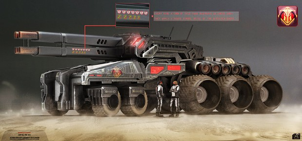 Harkonnen medium tank