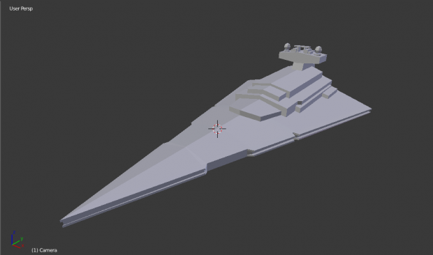 Imperial-II Star Destroyer WIP