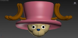 Tony Tony Chopper head WIP