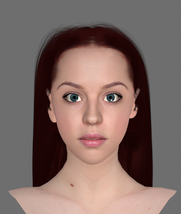 Female head WIP