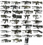mw3 primary weapons