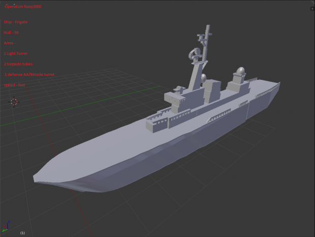 frigate model