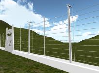 Jurassic Park 24ft fence