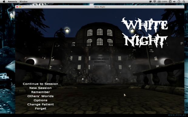 White NIght in Mac