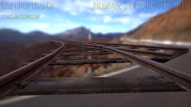 Train Tracks WIP render
