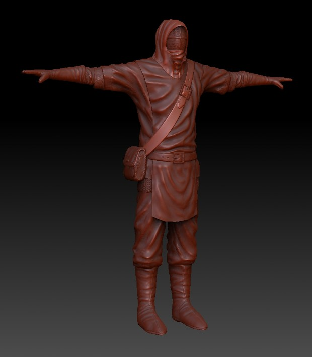 First Zbrush sculpt