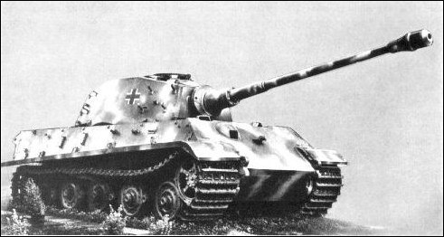 king tiger prototype