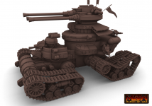March of War - Empire Devastator highpoly render
