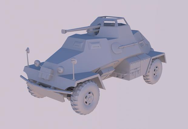 Custom Sd Kfz 221
