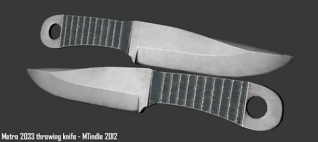 Metro 2033 throwing knife