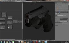 Caseless Pistol