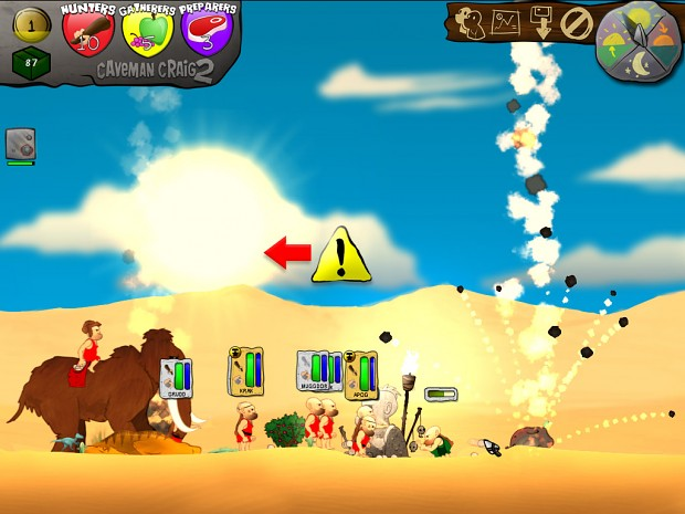 Caveman Craig 2 - Screenshot 1