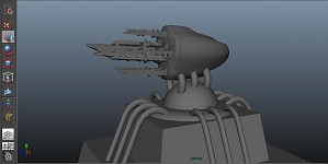 Ancient turret from the planet Doranda 2
