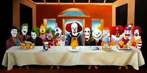 Clowns Last Supper