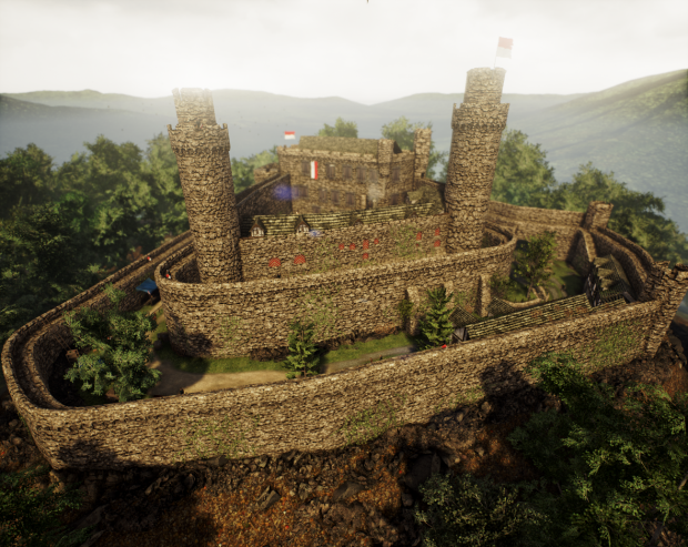 Auerbacher Schloss (Castle Auerbach) - Unreal Engine 4