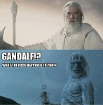 Gandalf Grey and Gandalf Blue