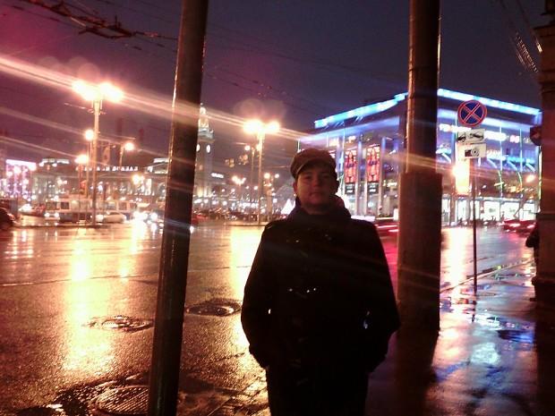 In the Kievskaya station