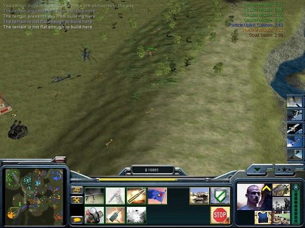 Player 2 back door/flank