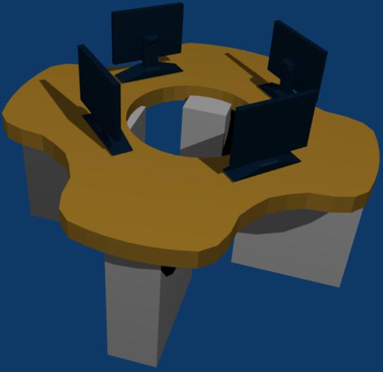 University Computer Desks