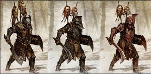 Dol guldur Orc Concept art
