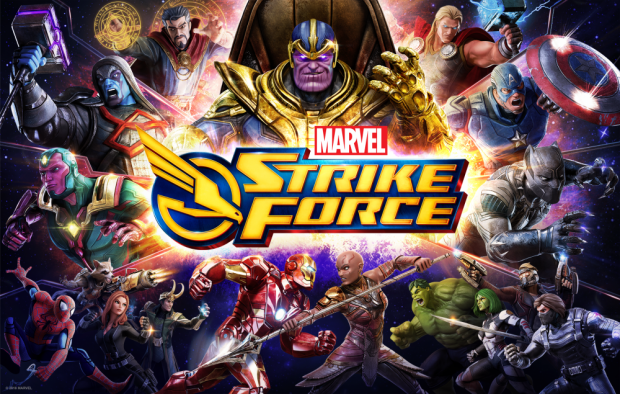 marvel strike force - loving it