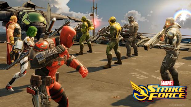 DEADPOOL Screenshot Marvel Strike Force