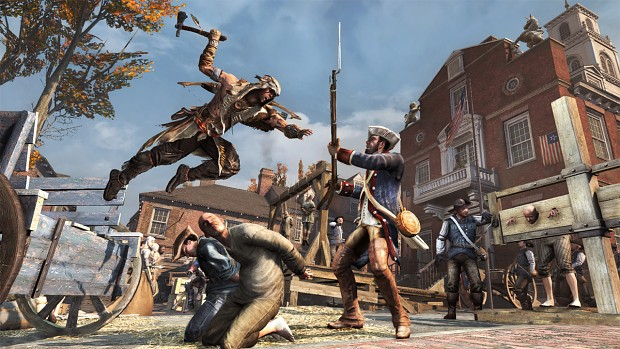 assassin creed 3 tyranny of king washinton
