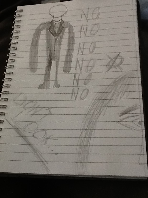 SlenderBitch drawing