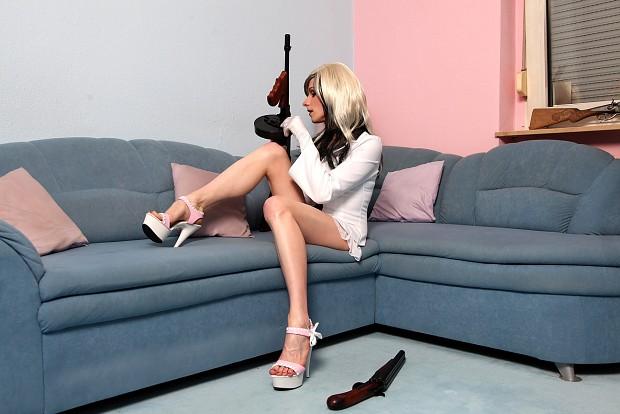 I love guns hihi