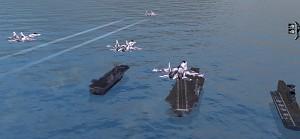 SU 35 BM flyby