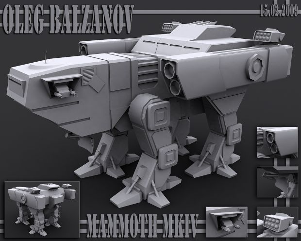 Epic Mammoth Tank MKIV