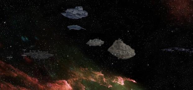 Rebel fleet.