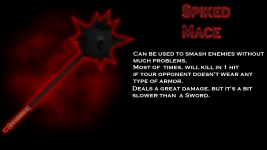 Spiked mace description for a game (maybe?)