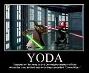 Yoda VS Disney:D