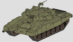 T-72BM in 3dsmax