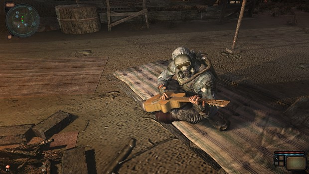 Call of Chernobyl - Wrong guitar position