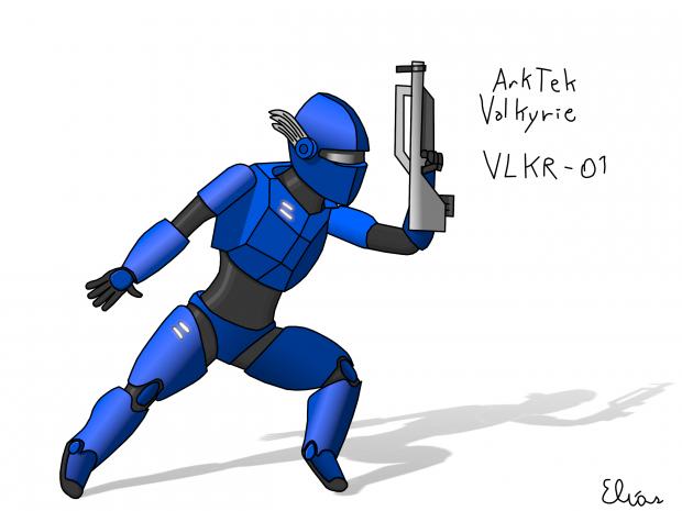 """ArkTek VLKR-01 """"Valkyrie"""""""
