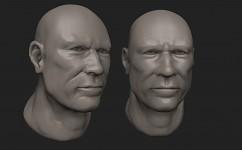 Fast head sculpt.
