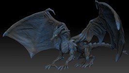 Dragon sculpt.