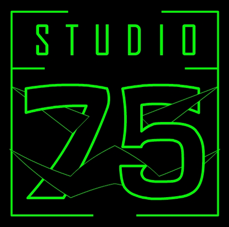 Studio75 production logo