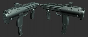 HL2 SMG remake HIGHPOLY